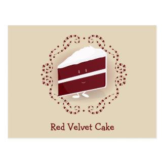Red Velvet Cake   Postcard