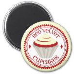 Red Velvet Cupcake Magnet