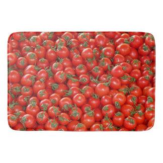Red Vine Tomatoes Bath Mat