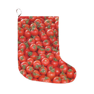 Red Vine Tomatoes Large Christmas Stocking