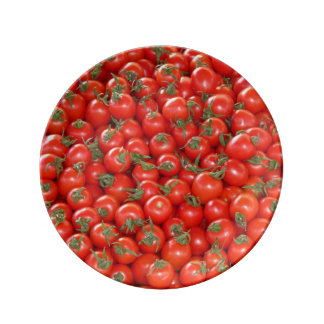 Red Vine Tomatoes Plate