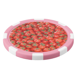 Red Vine Tomatoes Poker Chips