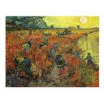 Red Vineyard by van Gogh Vintage Impressionism Art