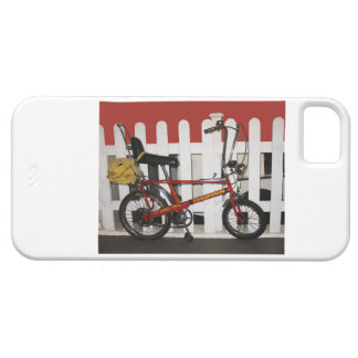 Red vintage bike  retro 1970s chopper case for the iPhone 5