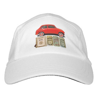 Red Vintage Car Hat
