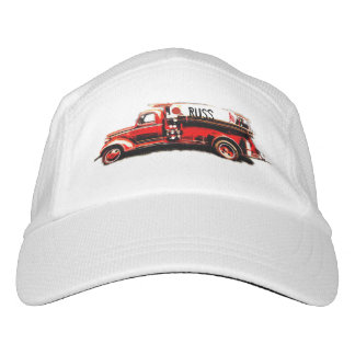 Red Vintage Fire Truck Hat