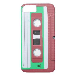 Red Vintage Retro Audio Cassette Tape iPhone 7 Case