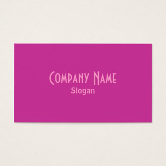 Red Violet Business Card