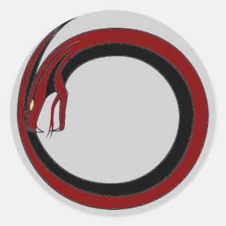 Red Viper Gothic Sticker