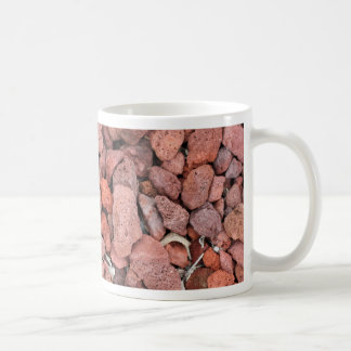 Red Volcanic Rocks Ground Cover Coffee Mug