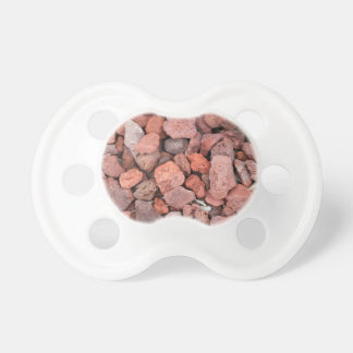 Red Volcanic Rocks Ground Cover Pacifier