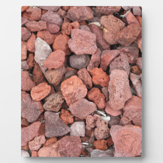 Red Volcanic Rocks Ground Cover Plaque
