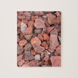 Red Volcanic Rocks Ground Cover Puzzle