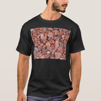 Red Volcanic Rocks Ground Cover T-Shirt