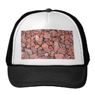 Red Volcanic Rocks Ground Cover Trucker Hat