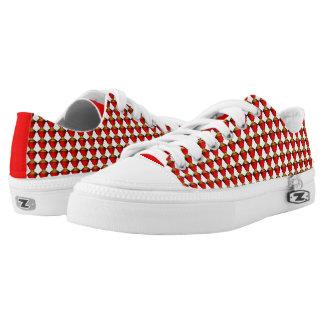 Red Vose Motif Shoe