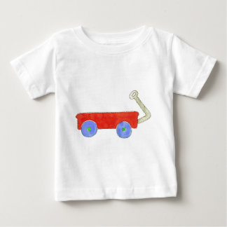 Red Wagon Baby T-Shirt