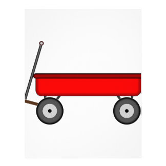 Red Wagon Drawing Letterhead