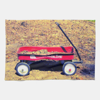 Red Wagon Towel