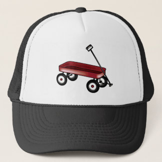 Red Wagon Trucker Hat