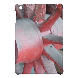 Red Wagon Wheel iPad Mini Case
