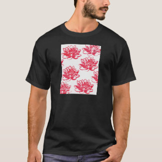 Red water lilies T-Shirt