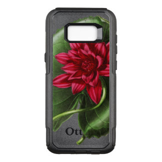 Red Water Lily OtterBox Commuter Samsung Galaxy S8+ Case