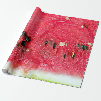 Red watermelon fruit wrapping paper