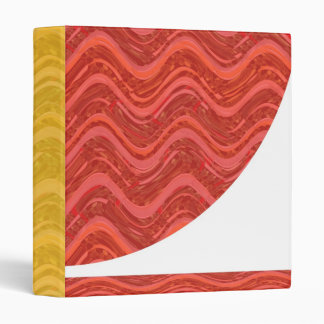 RED WAVES : Love ENERGY lowprice business file 3 Ring Binder
