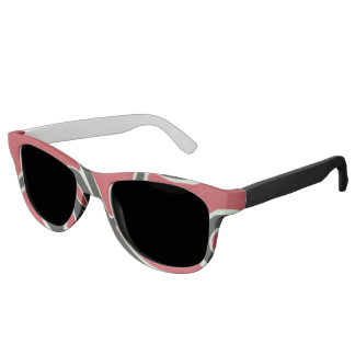 Red waves sunglasses