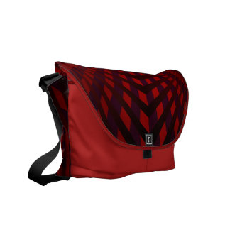 Red Web Commuter Bags