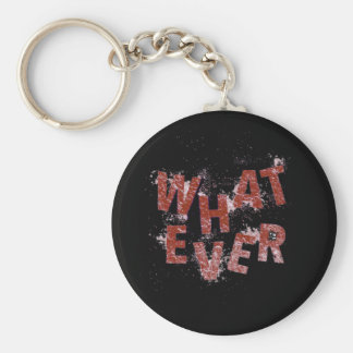Red Whatever Keychain