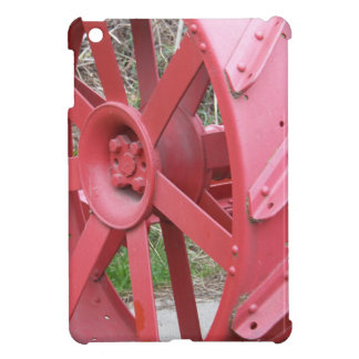 Red Wheel Case For The iPad Mini