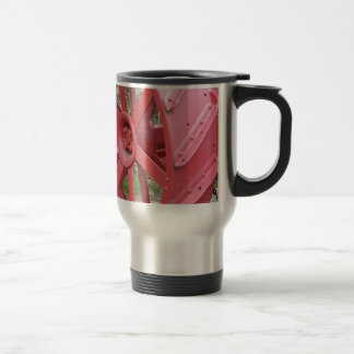 Red Wheel Travel Mug