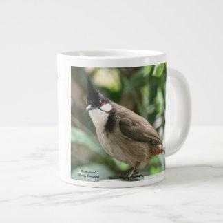 Red-Whiskered Bulbul 20 oz. Mug by RoseWrites