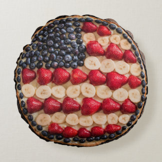 Red, White and Blue American Pie Pillow