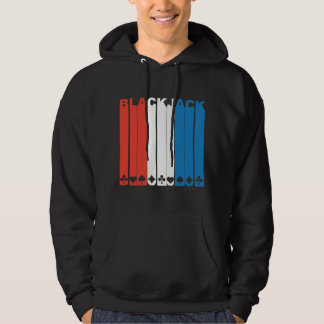 Red White And Blue Blackjack Hoodie