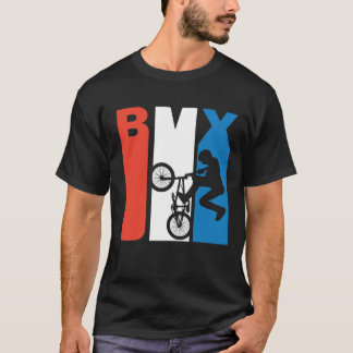 Red White And Blue BMX T-Shirt