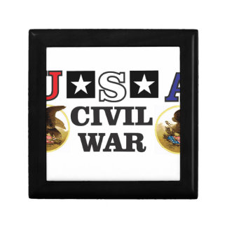 red white and blue civil war gift boxes