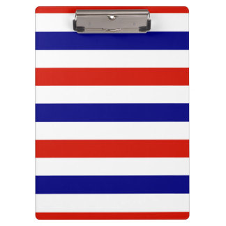 Red White and Blue Clip Board Clipboards