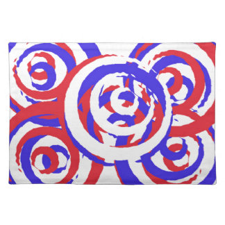 Red White and Blue Custom Placemat