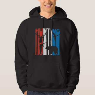 Red White And Blue Hunting Hoodie