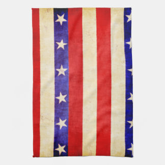 Red, White and Blue Kitchen Towel