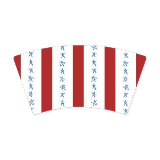Red White and Blue Party Cups Paper Cup