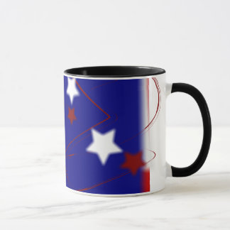Red White and Blue Patriotic Mug