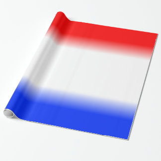 Red White and Blue Patriotic Wrapping Paper