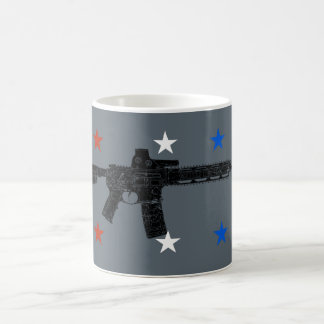 Red White and Blue Pew Coffee Mug