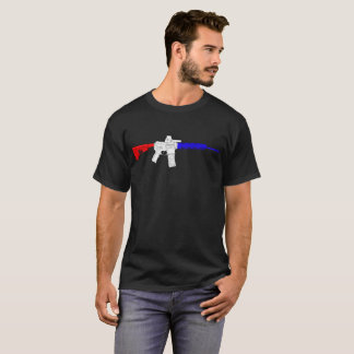 Red White and Blue Pew T-Shirt