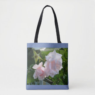 Red, White, and Blue Roses Tote