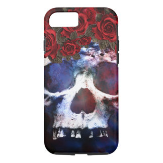 Red, White, and Blue Skull iPhone 8/7 Case